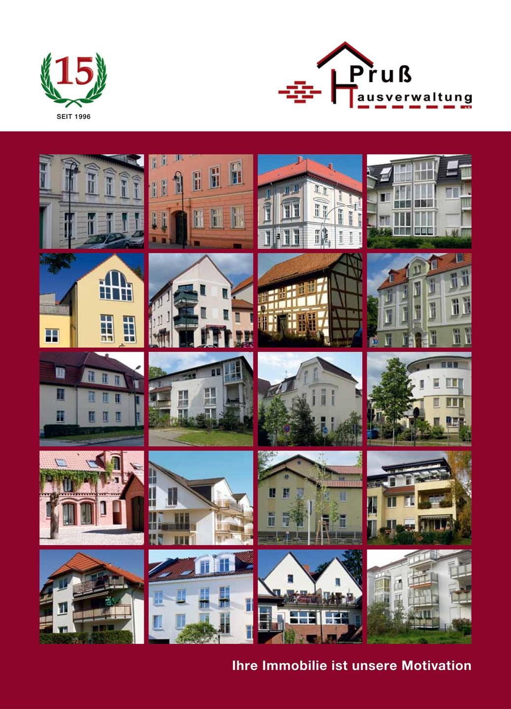 Pruss Hausverwaltung Broschüre